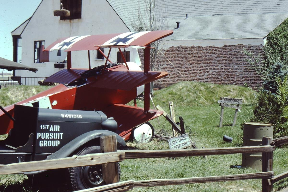 94th Aero Squadron Restaurant, Denver, Colorado, 1980 & 1982